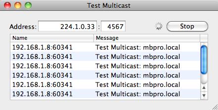 Multicast Ping on a Mac - bdunagan